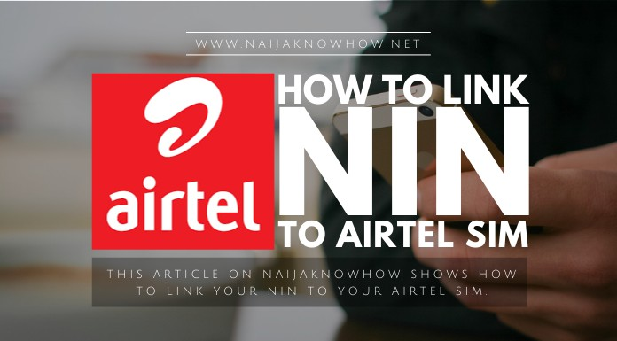 how to link nin to airtel sim