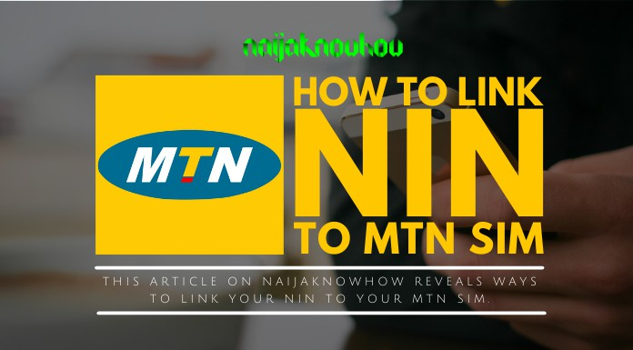 how to link nin to mtn sim