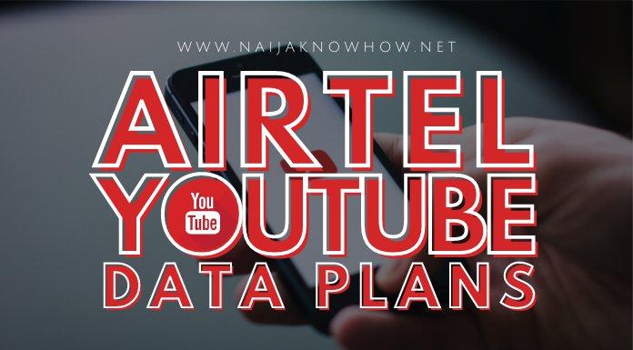 airtel youtube data plans