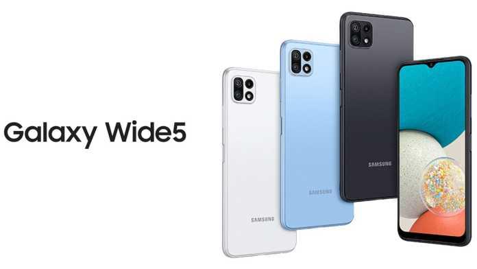 Samsung Galaxy Wide 5