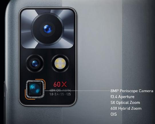 Infinix ZERO X NEO Camera