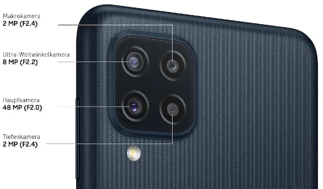 Samsung Galaxy M22 Camera