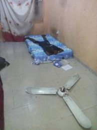 Final Year Uniuyo Student Escapes Death As Ceiling Fan Falls