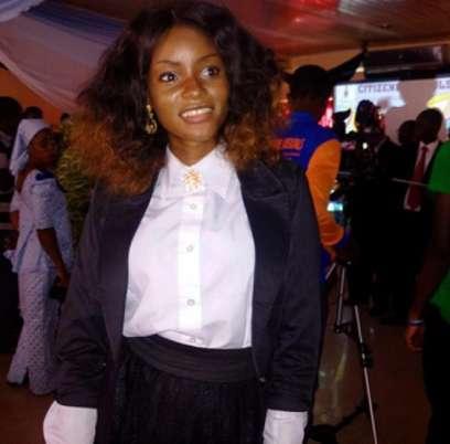 Adunola, Moji Olaiya's daughter (Nollywood Gists )