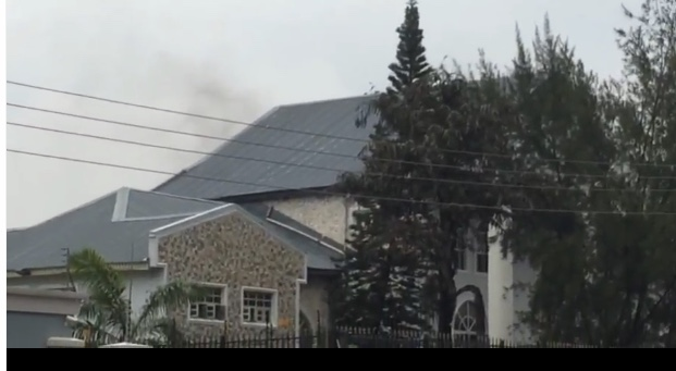 Deji Adeleke's House On Fire: Davido's Father's House Gutted By fire[video]