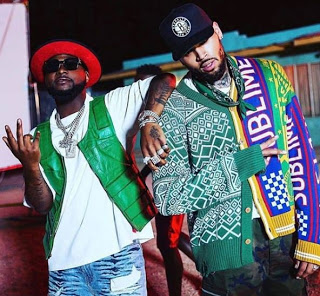 Chris Brown Unfollows Davido On Instagram