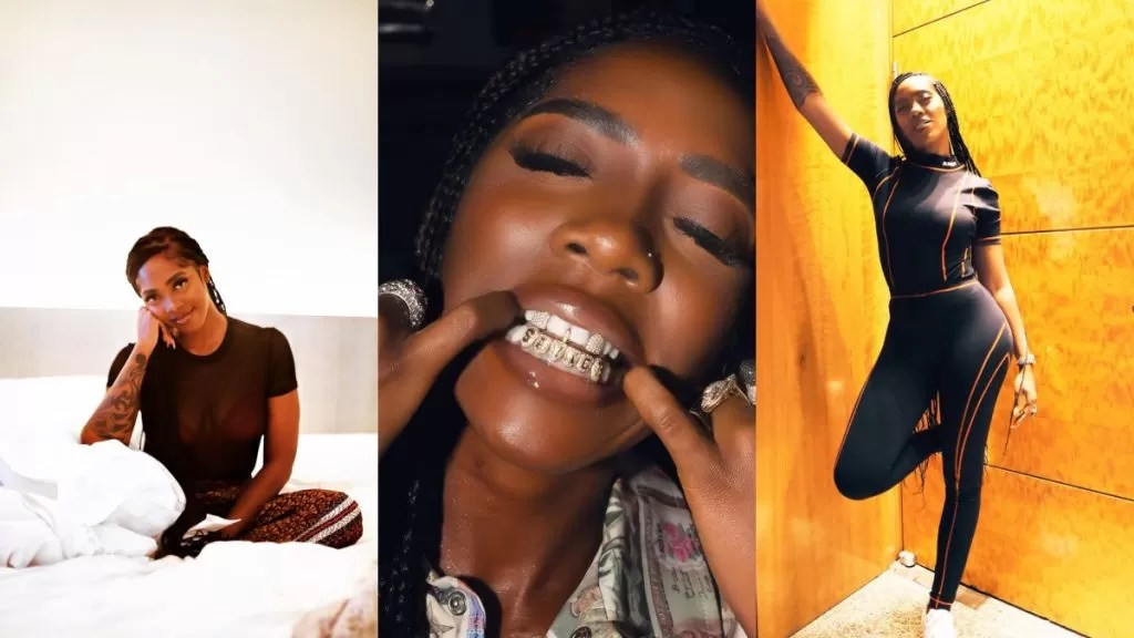 Tiwa Savage customizes her teeth (photo)