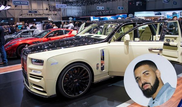 Drake is currently the biggest boy in town as he just bought a ₦252.6 million Rolls-Royce Bushukan – the first-ever made![See video]