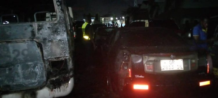 Lagos Airport Hotel On Fire.[Photos]