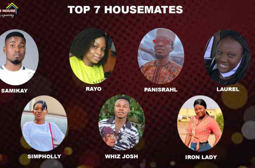 [ERIC HOUSE 2.0]THE FOLLOWING HOUSEMATES ARE IN THE GRAND FINALE