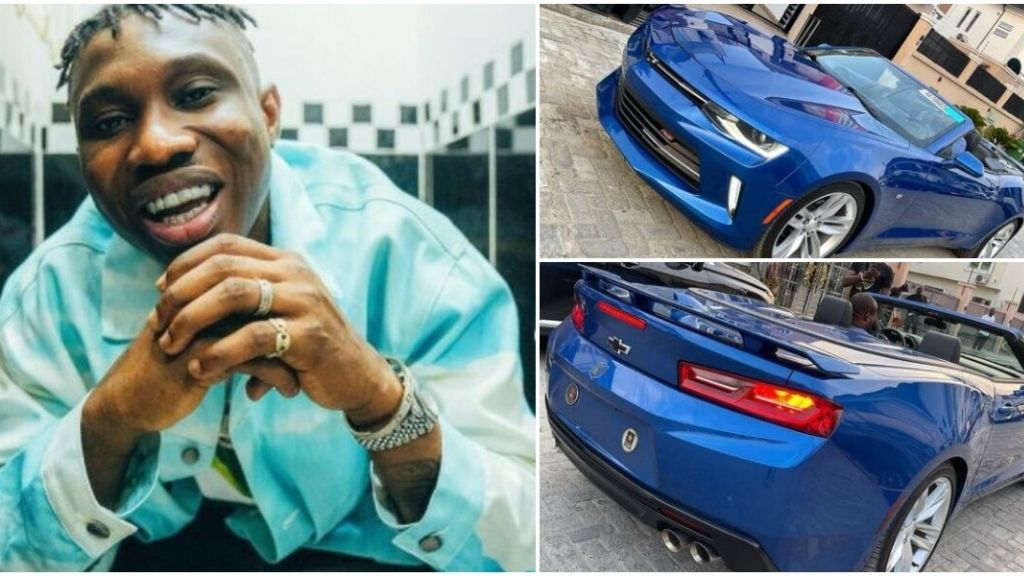Zlatan Reportedly Buys car Worth 20 Million Naira
