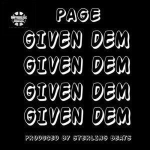 Page – Given Dem (Prod. Sterling)