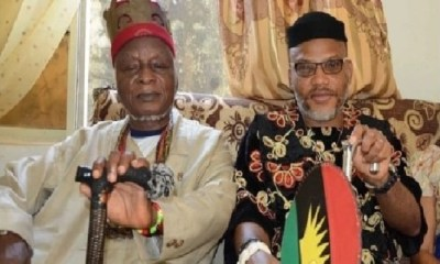Nnamdi Kanu's Father Dies