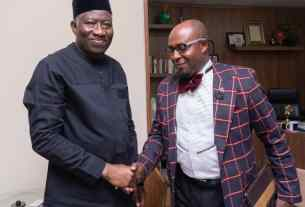 GOODLUCK JONATHAN GCFR ENDORSES AND THROWS WEIGHT BEHIND AFRICA2020- ONE UNITED AFRICA PROJECT.