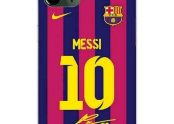 Pictures of customized IPhone 11pro given to players