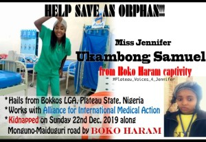Orphan kidnapped by Boko Haram