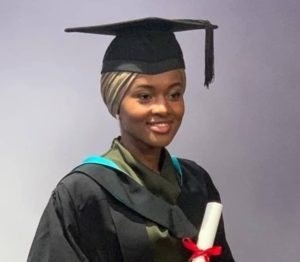 Buhari's Daughter graduates with 1st Class from UK.