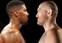 Daily mail reports that Anthony Joshua and Tyson Fury could earn more than 100$ inn their next clash in the year 2021