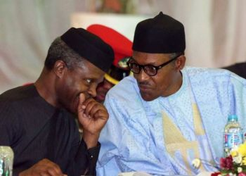 Buhari And Osinbajo Turning Into Zombies After Receiving COVID Vaccine Yesterday – How Would You Feel?