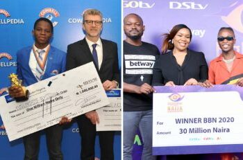 Nigerian man causes stir on twitter over prize difference between BBNaija & Cowbell shows.