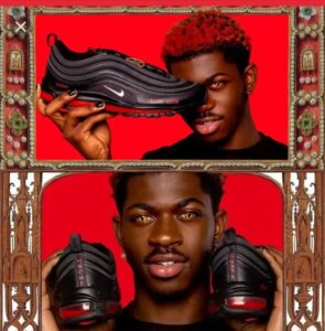 Lil Nas X Satan Montero Shoes