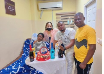 Comedienne Ada Jesus celebrates her birthday in a grand style.