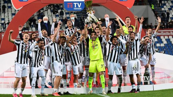 Juventus win Italian Cup for 14th time