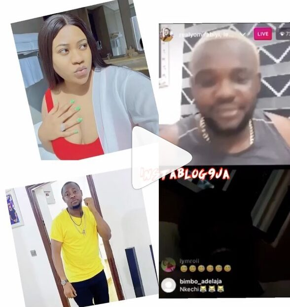 """""""I'm your senior. You didn't become popular through acting,"""" actor Lege lashes Nkechi Blessing for publicly tackling him during the Baba Ijesha saga."""