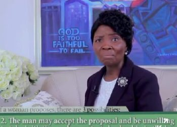 Is it Wrong For A Woman To Propose to A Man?? - Faith Oyedepo Clarifies