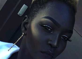 Checkout 'queen Of Dark' Nyakim Gatwech, The Lady With The Darkest Skin In The World
