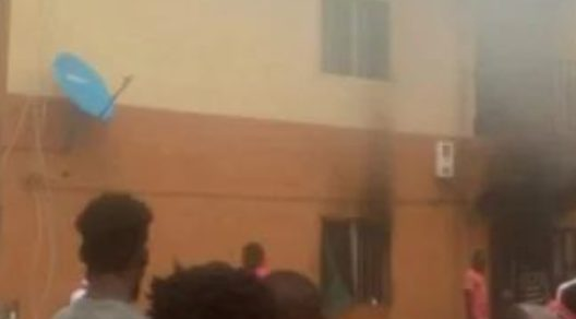 VIDEO: UNIZIK Female Student's Gas Cylinder Explodes While Making Facebook Live Video
