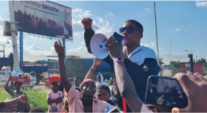 Mr Macaroni, others join protest
