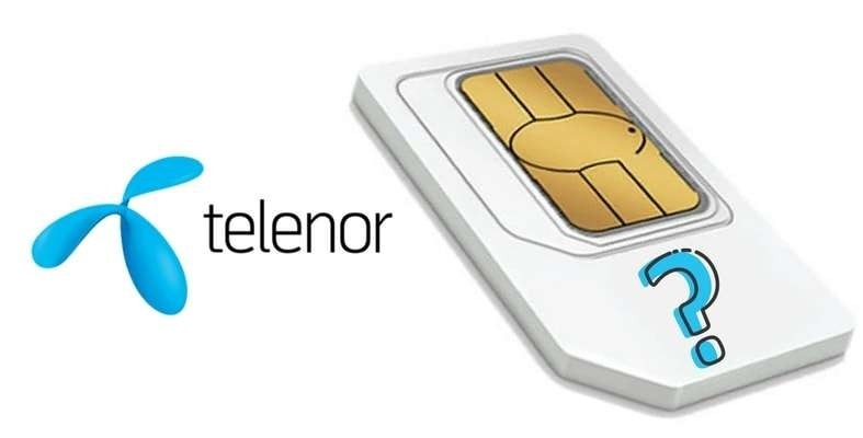 check Telenor mobile number