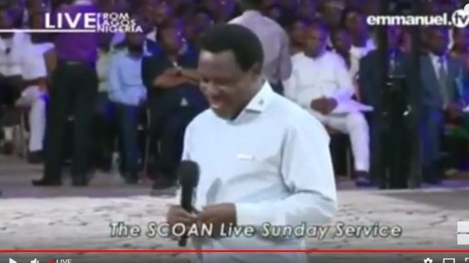 Live stream Sunday Service At SCOAN With TB Joshua 17th December, 2017