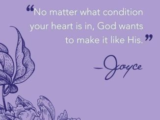Joyce Meyer Daily Devotional For Today 4 February 2018