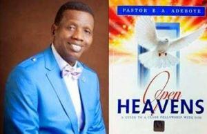 Open Heavens Devotional Prayer Points