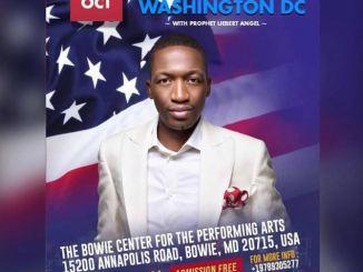 Prophet Uebert Angel To Visit Washington DC