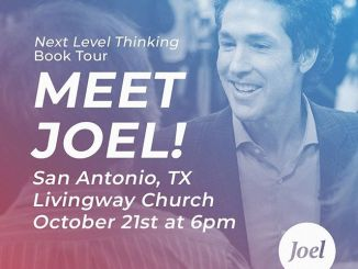 Joel Osteen Daily Devotional Today 22nd October