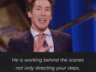 Joel Osteen Daily Devotional Today 19th November