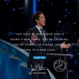 Joel Osteen Daily Devotional Today 1st November