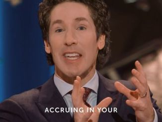 Joel Osteen Daily Devotional Today 4th December