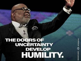 Bishop T.D Jakes Word Today 15th March