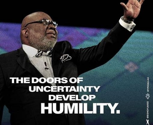 Bishop T D Jakes Word Today 15th March, 2019