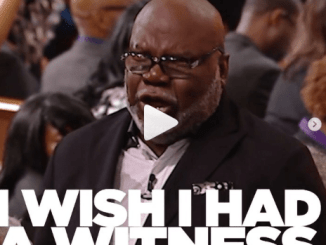 Bishop T.D Jakes Word Today 7th March