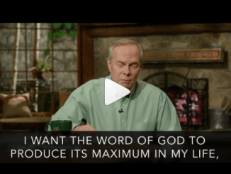 Andrew Wommack Devotional Today 20th April