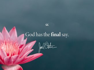 Joel Osteen Devotional 6 June 2019