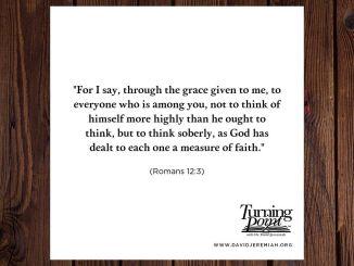 David Jeremiah Devotional 20 July 2019