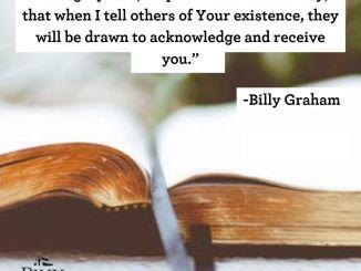 Billy Graham Devotional 12 July 2019