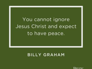 Billy Graham Devotional 15 October 2019