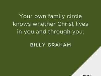 Billy Graham Devotional 1st November 2019